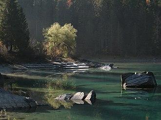 Caumasee - Image: Autumn at Caumasee