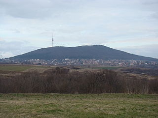 Avala Mountain in Serbia