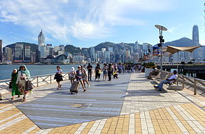 Avenue of Stars, Hong Kong - Image: Avenue of Stars Overview 201508