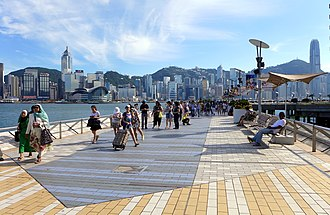Avenue of Stars, Hong Kong - Avenue of Stars before renovation in 2015