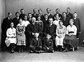 Avgangklasse Byåsen skole (1917) (11116586924).jpg