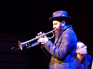 Avishai Cohen (trumpeter) - Avishai Cohen performing at WOMEX 15, Budapest