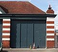 Avonmouth Old Bus Depot doors.JPG