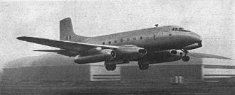 "Cone of Silence (film) -  Avro Ashton aka ""Atlas Aviation Phoenix 1"" airliner"