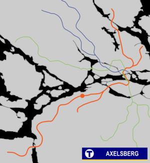 Axelsberg metro station