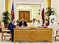 Azerbaijan, Qatar signed documents, 2017 03.jpg