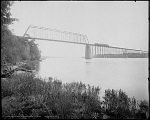 CSX Susquehanna River Bridge - Eastern end (from Perryville)