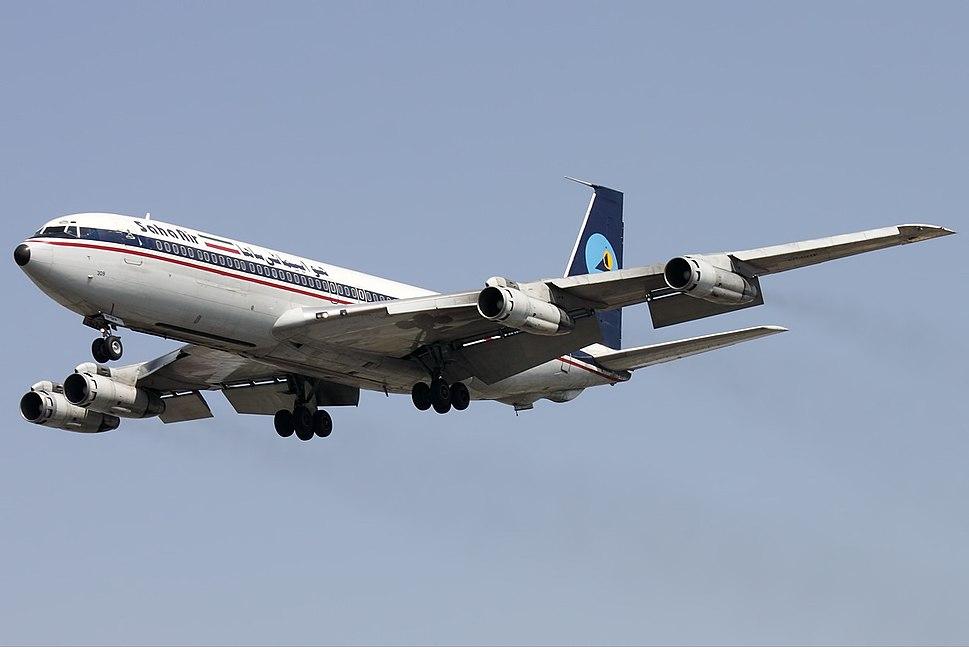 B707 Saha Airlines EP-SHV THR March 2011