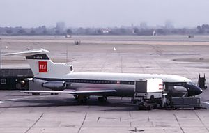 Hawker Siddeley Trident - British European Airways Trident at London Heathrow Airport in 1964