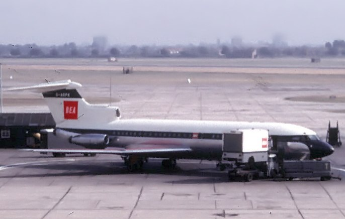 BEA Hawker Siddeley Trident at London Heathrow Airport 1964