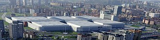 Bilbao Exhibition Centre - Aerial view of the BEC complex.