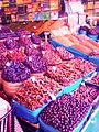 BOUALM artwork Dried fruit in traditional market morocco.jpg