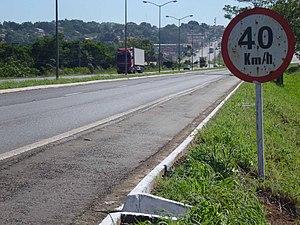 BR-153 - Image: BR 153 em Araguaína
