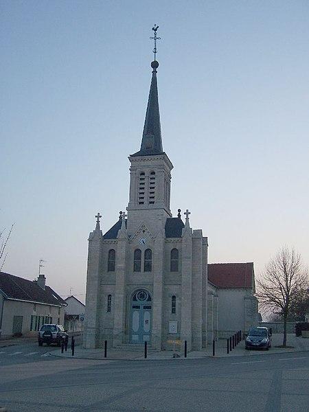 église de Brognon  (Côte d'or)  FRANCE