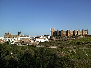 Baños de la Encina city in Jaén, Spain
