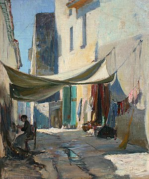 Allen Butler Talcott - Back Street in France