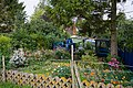 Back garden of one of the houses in Wonston - geograph.org.uk - 943777.jpg