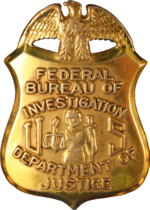 Badge of a Federal Bureau of Investigation special agent.png