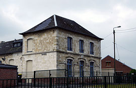 The town hall of Bailleulmont
