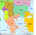 Balcans - Cambiaments territòriaus en 1912-1913.png