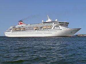 Orient Lines - Image: Balmoral departing Tallinn 9 July 2013