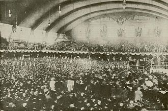 1912 Democratic National Convention - Convention in-session