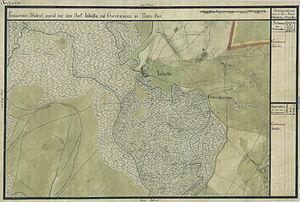 Jabuka - National Archives of Austria, Map of the Josephinian Land Survey (1769-1772)