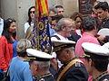 Banda, de perfil, Coronación de la Virgen de la Estrella, Toledo, España, 2015.JPG