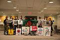 Bangladesh Students' Association at University of Akron protests and express solidarity with Shahbagh Movement 2013.jpg