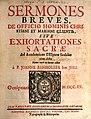 Banholzer, Johann Sermones breves de officio hominis christiani et Mariani clientis, Innsbruck 1715.jpg
