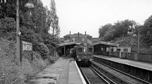 Banstead railway station - The station in 1961