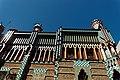 Barcelona - Carrer de les Carolines - View NNW on Casa Vicens 1889 Antoni Gaudí I.jpg