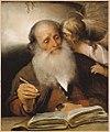 Barent Fabritius - De evangelist Mattheüs met de engel (1656).jpg