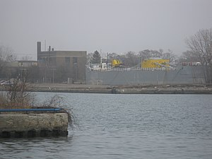 Barge Metis moored at the mouth of the Keating Channel -a.jpg