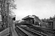 The station in 1961