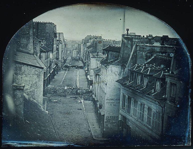 File:Barricades rue Saint-Maur. Avant l'attaque, 25 juin 1848. Après l'attaque, 26 juin 1848 (Original).jpg