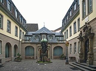 Art museum in Colmar, France