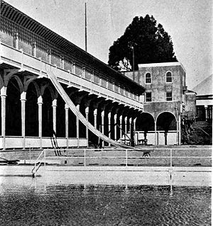Crown Memorial State Beach - Bathing Pavilion, Neptune Beach, Alameda, California in 1917