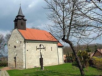 Bátonyterenye - Medieval church of Maconka