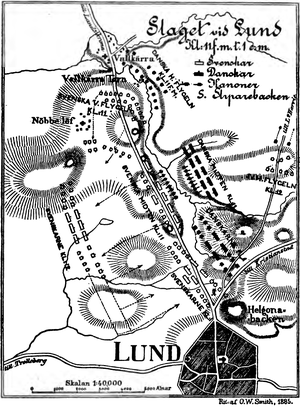Battle of Lund - Battle of Lund 1676