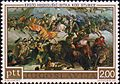 Battle of Stubica by Krsto Hegedušić 1973 Yugoslavia stamp.jpg
