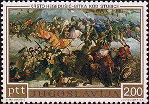 Krsto Hegedušić - Battle of Stubice