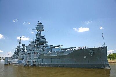 Battleship Texas, La Porte