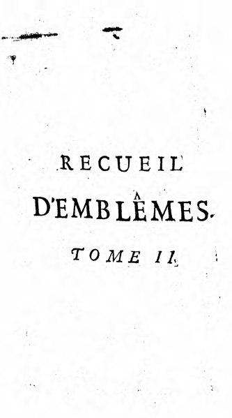 File:Baudoin - Recueil d emblemes Tome II.djvu