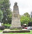 Bayreuth, Kulmbacherstrasse 85, Denkmal, Pyramide mit Zahnrad (01).jpg