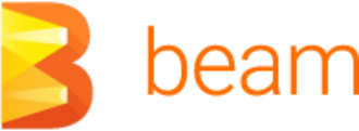 Apache Beam - Image: Beam logo full color name right 200 autocrop