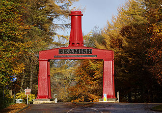 Beamish Museum - Image: Beamish Entrance