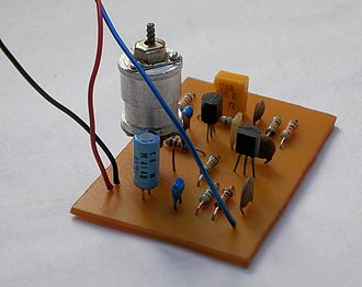 Beat frequency oscillator - Add-on 455 kHz homemade BFO board