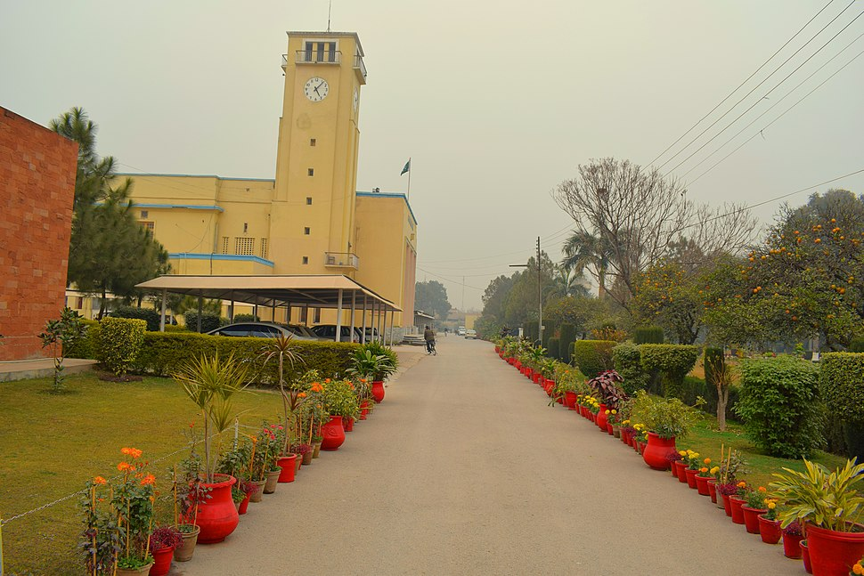 Beautiful view of Peshawar Uni museum