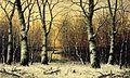 Beech Trees in Winter by Carl Christian Brenner.jpg